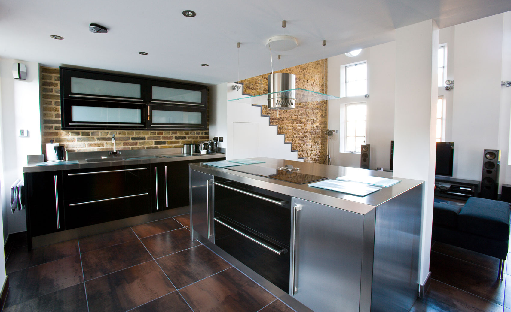 Stainless Steel Kitchen Cabinet Worktops Splash Backs Uk