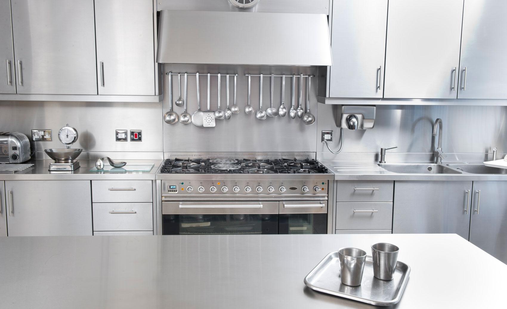Stainless Steel Kitchen Cabinet Worktops Splash Backs Uk